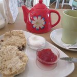 Afternoon cream tea at a gem of a tea shop