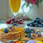 Lemon Lavender Blueberry French Toast