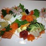 amazing sushi assortment