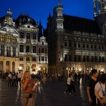 Nighttime in Grand Place
