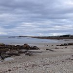beautiful shoreline on the way into Spiddal