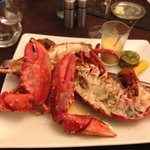 excellent homard - simple and tasty off the carte