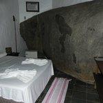 quarto com a pedra