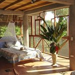 One of the rooms with view on river Napo.