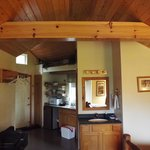 Kitchen Area of Willow cabin
