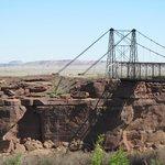 Old Bridge over Colorado River