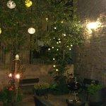charmant patio