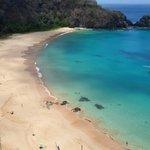 Vista panorâmica da Praia do Sancho