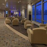 Lobby Area Overlooking the Hudson