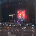 One of the acts, Coheed & Cambria, taken from the front of section 201