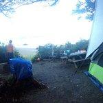 oceanview campsite