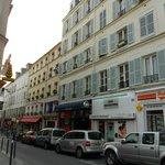 La Rue des dames...Fassade