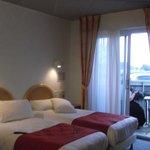 Chambre avec terrasse vue sur mer