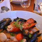 Seafood curry - highly recommended!