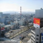 View over Aomori from our room