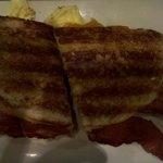 Smoked Bacon & Cheddar Pannini