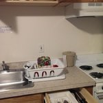 Dishes and silverware are included