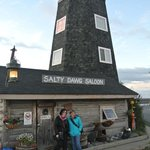 Historic saloon on the Homer Spit.