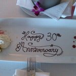 30 years married compliments of the W hotel.