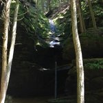 Conkles Hollow waterfall