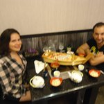 Dinner time at Yamato restaurant!