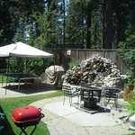 BBQ and Firepit behind Activity Center