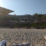 desde la playa