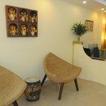 Our reception area