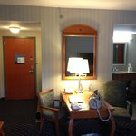 spacious and clean suite