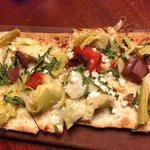 flat bread goat cheese