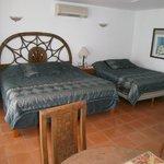 Sleeping area of Barracuda Suite