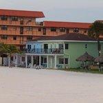 l'hôtel côté plage