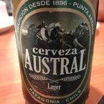 Cerveza Austral, genial