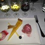 Dessert Tasting Plate with Matching Wines