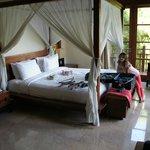 Villa One Master bedroom