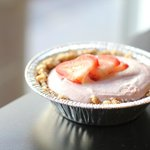Strawberry Cream Tart V, GF, RAW