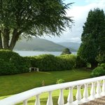 'The Grange' - views of lovely Loch Linnhe - sans cars and noise