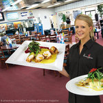 Narrabri Bowling Club restaurant hostess Heidi