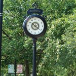 The historic clock.