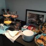 Buffet a colazione