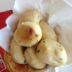 Garlic bread...yum!