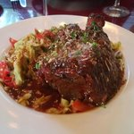 Ossobucco - Pork shank  in rosemay red wine sauce