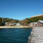 Q Station from the jetty.