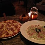Lucia pizza and gnocchi toscana
