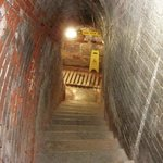 Staircase to the tunnels