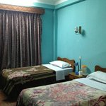 twin beded room