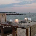 Idéal pour dîners romantiques