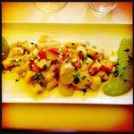 Gnocchi di ricoatta e patate con le capesante