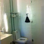 functional but nice bathroom