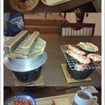 夕食と朝食